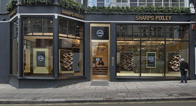 Sharps Pixley's brand new bullion showroom at 54 St James' Street, London